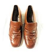 Florsheim Imperial Mens Size 10 Dress Shoes Brown - $39.59