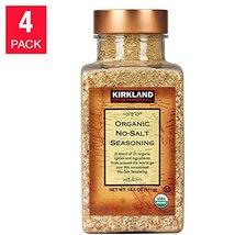 Kirkland Signature No-salt Organic Seasoning - 4-pack - $55.34