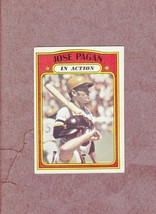 1972 Topps high # 702 Jose Pagan In Action Pittsburgh Pirates Nice vg-ex... - $4.99