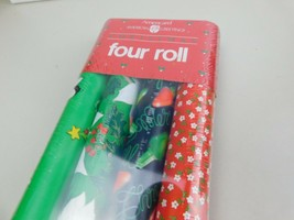 Vintage Christmas Gift Wrapping Paper 50 Sq Ft American Greetings - $18.99