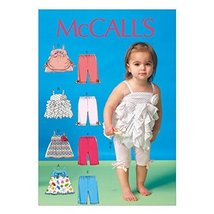 McCall's Patterns M7142 Infants' Tops and Leggings Sewing Template, YA5 ... - $14.21