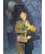 Our Heritage 22x30 Boy Scout Art Print by Norman Rockwell - $64.34