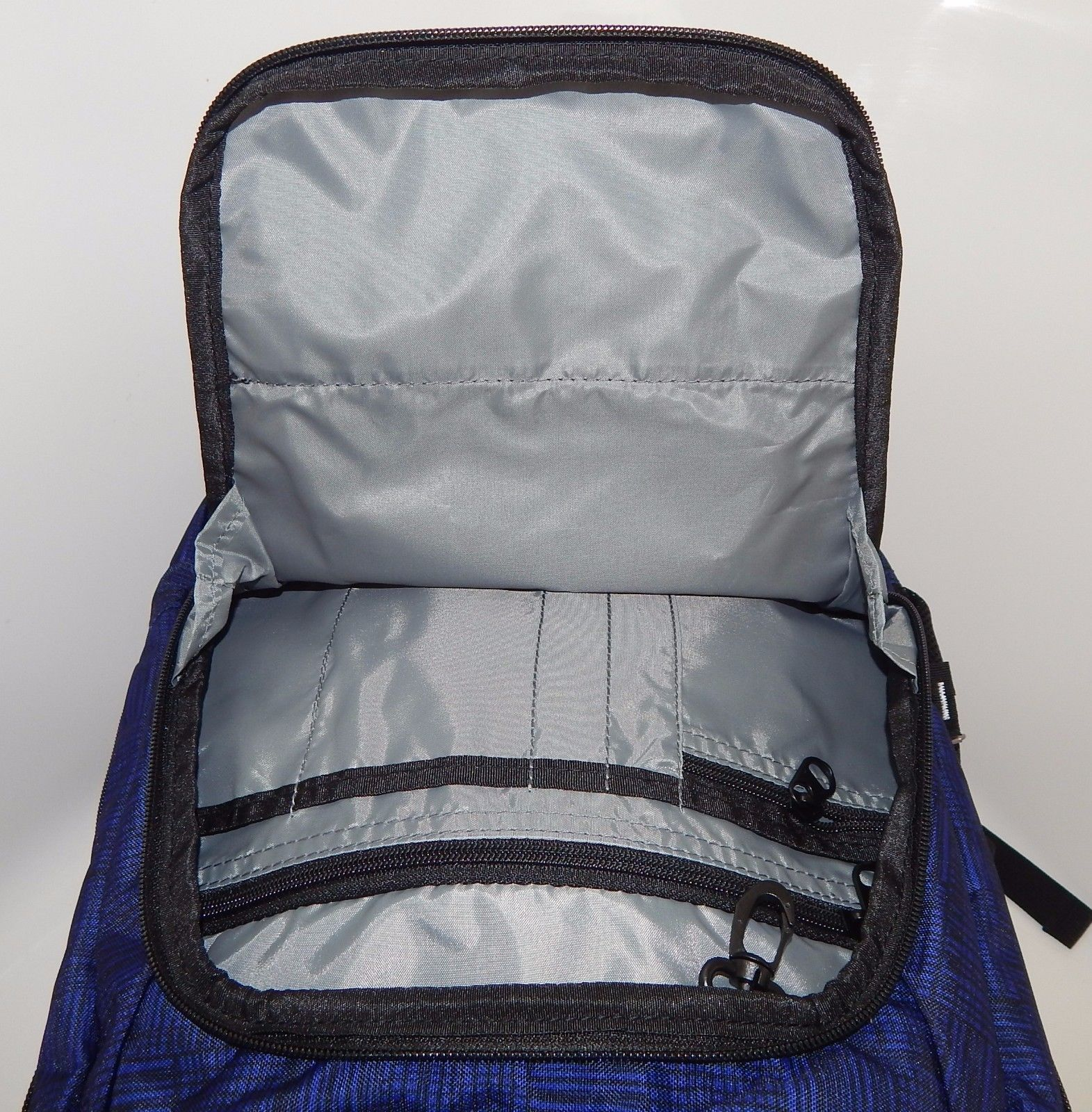 """Kenneth Cole Reaction Tribute R-Tech 17.3"""" Backpack Griddle Blue $100 5708507G"""