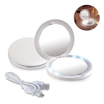 Makeup Mirrors By TOUCHBeauty 1x/2x Magnifying Makeup Mirrors with Light... - $23.76