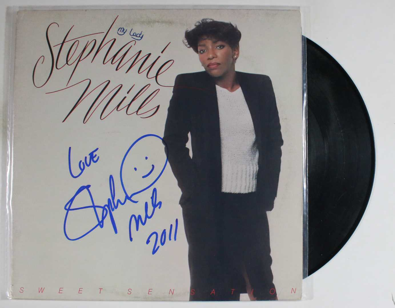 "Primary image for Stephanie Mills Signed Autographed ""Sweet Sensation"" Record Album"
