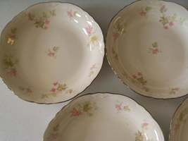 Homer Laughlin Maple Leaf Set Of Six Soup Bowls image 2