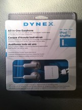 Dynex Ear Bud Headphones for Apple iPod Shuffle  **NEW**   Buy 1 Get 1 Free - $6.92