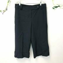 Ann Taylor LOFT Women's Size 10 Black Dress Pant Culottes, EUC - $19.79