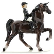 Hagen-Renaker Specialties Ceramic Figurine Dressage Horse with Rider image 3