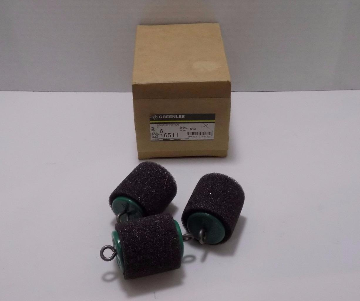 Greenlee 16511 Conduit Pistons Box of 3ea and similar items