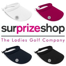 Neuf 2020 Surprizeshop Femmes Large Quotidien Golf Visière - Rose Bleu B... - $25.80