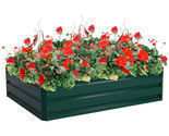 "47.5"" x 35.5"" Patio Raised Garden Bed Vegetable Flower Planter"