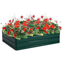 "47.5"" x 35.5"" Patio Raised Garden Bed Vegetable Flower Planter - £65.05 GBP"