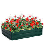 "47.5"" x 35.5"" Patio Raised Garden Bed Vegetable Flower Planter - $100.41"