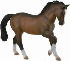 <><  CollectA Horse world Bay Warmblood Stallion 88827   stunning - $9.65