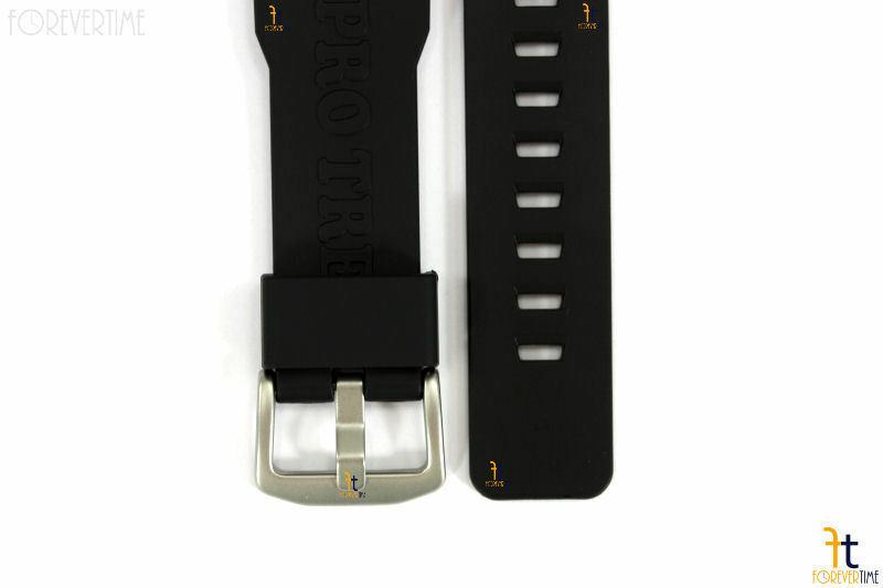 CASIO Pathfinder Protrek PRW-6000 Original Black Rubber Watch Band Strap image 5