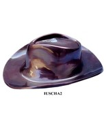 Large/Adult 110 Cubic Inch Metal Cowboy Hat Funeral Cremation Urn - $179.99