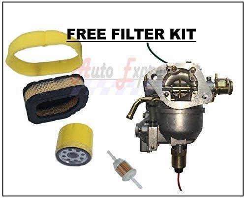 Auto Express Carburetor for Sabre 2354HV 2554HV Nikki Carb Tune Up Kit Pump Filt