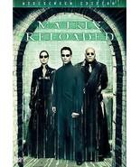 The Matrix Reloaded (DVD, 2003, 2-Disc Set, Widescreen) - $0.99