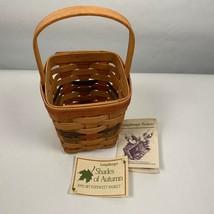 Longaberger Basket Shades of Autumn 1992 Bittersweet Handled - $20.00