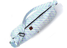 Yoga Mat Shoulder Bag Handmade Pure Cotton Indian Handmade Yoga Mat Carr... - $26.99