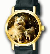 POMERANIAN SPITZ VINTAGE BRITISH DOG PORTRAIT ART UNISEX COLLECTIBLE WRI... - $59.99