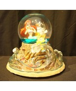 Disney The Little Mermaid Musical Light Up Snow Globe Part Of Your World - $296.95