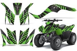 ATV Graphics kit Decal for Kawasaki KFX50 and KFX90 2007-2016 NUKE GREEN - $129.95
