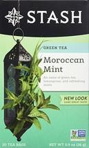 Stash Tea Moroccan Mint Green Tea 20 Count Box of Tea Bags in Foil Pack ... - $16.85