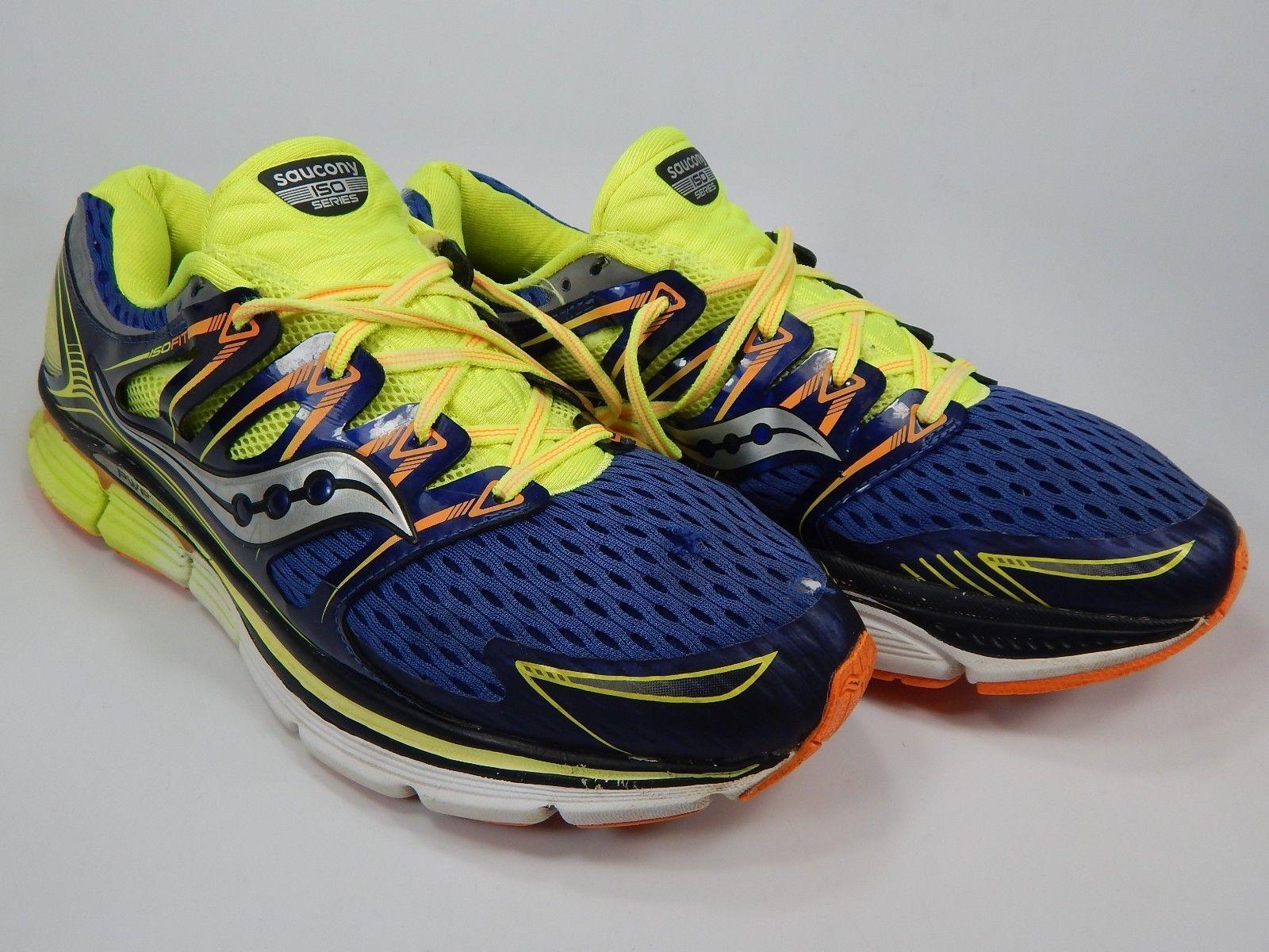 Saucony Triumph ISO Size US 13 M (D) EU 48 Men's Running Shoes Blue S20262-1