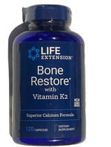 Life Extension Bone Restore Superior Calcium Diet Support - 120 Capsules - $18.99