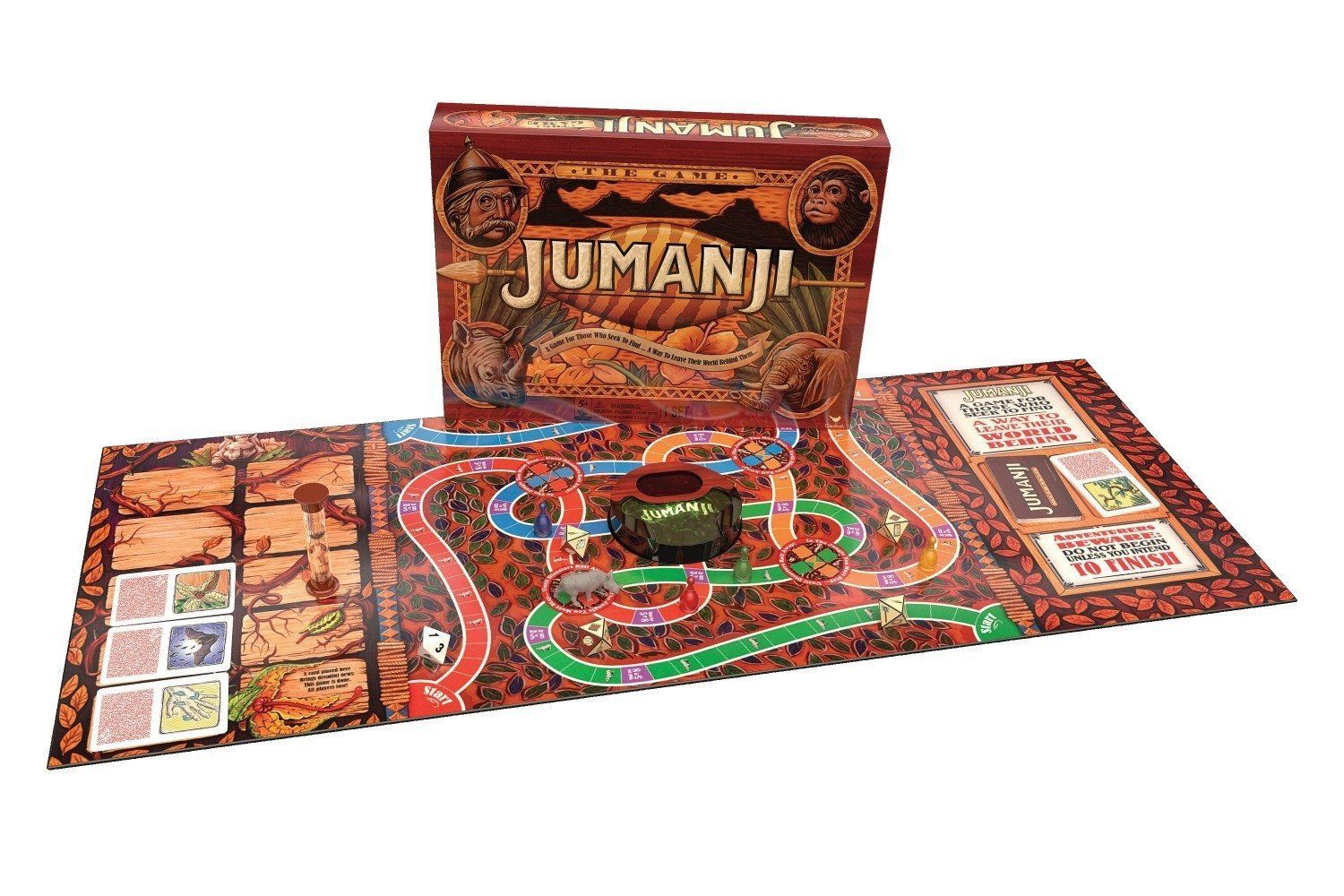 Original Jumanji Action Board Game [New] Family Fun Game
