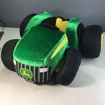 Retired BABW John Deere Plush Farm Tractor Toy 2012 Build A Bear Workshop - $29.69