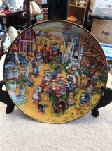 FRANKLIN MINT Heirloom Plate - A Purrfect Feast - Limited Edition by Bil... - $18.75