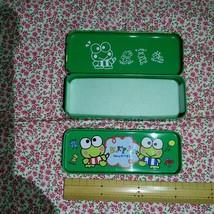 Sanrio  Sanrio Kero Kero Keroppi Retro Can Case Cute Rare - $58.83