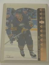 1994-95 Upper Deck UD SP Insert Die Cut #SP-97 Donald Audette Sabres Hockey Card - $0.99