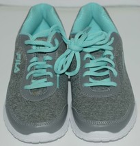 Fila 5SR21114068 Lite Spring Heather Womens Athletic Shoe Blue Seven and a Half image 1