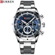 Curren 8355 Top Brand Luxury Sports Chronograph Quartz Watch Men New Fashion Men - $116.60