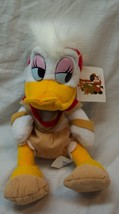 "Disney Frontier Land Daisy Duck As Indian 9"" B EAN Bag Stuffed Animal Toy New - $14.85"