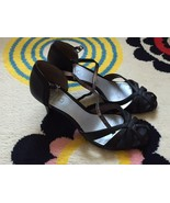 Esprit Women Strappy Heels, Black, Size 8, New, Without Box - $15.00
