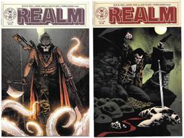Realm #3 A & B Jones Variant set NM+ 2017 Image Comics Haun Sold-Out 1st... - $5.93