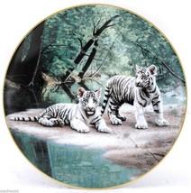 Partners Nature's Playmates 1991 Charles Fracé Wildlife Art Bradford Pla... - $42.95