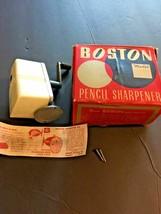 Vintage Boston Bulldog Model KS Pencil Sharpner in Box Instructions 005-001 - $40.09