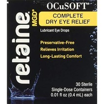 Ocusoft Retaine MGD Ophthalmic Emulsion, Milky White Solution, 30 Single... - $52.95