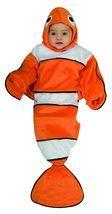 Newborn Lil Guppy Bunting Halloween Costume Size 0-9 Months - £16.91 GBP