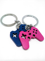 Cute Miniature PS Controller Necklace Pendant Keychain Gamer Gift - $10.00