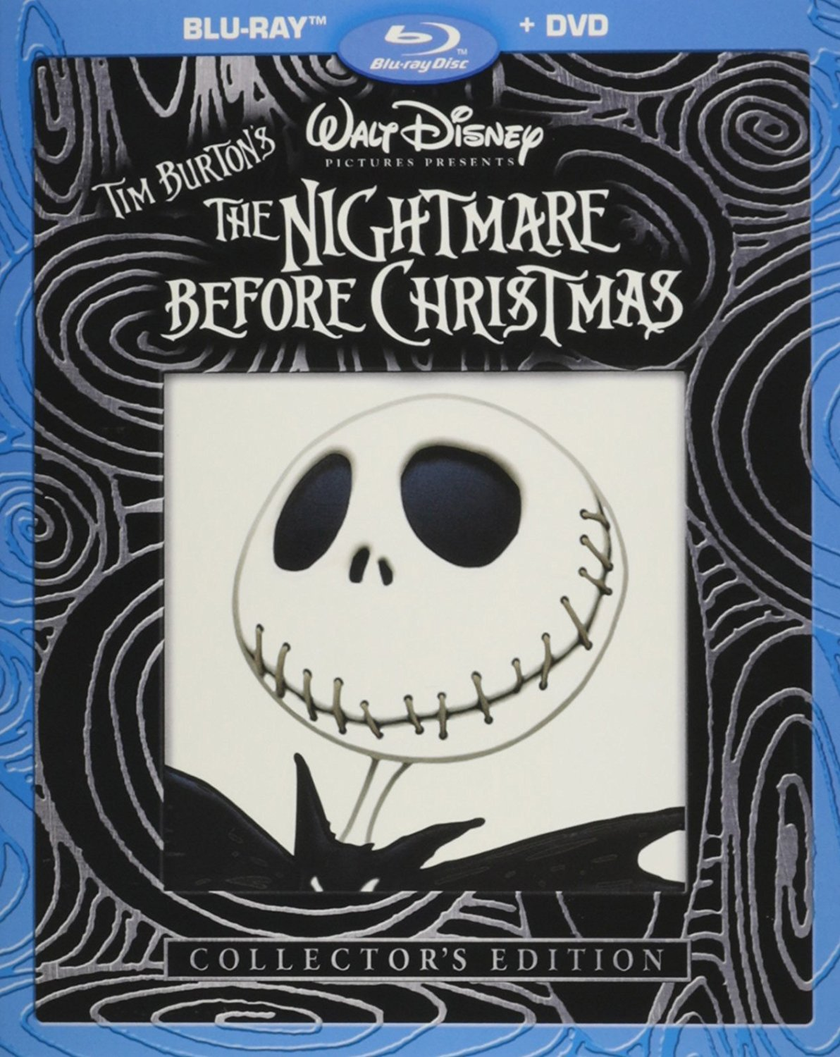 Disney Nightmare Before Christmas Collector's Edition (2-Disc Blu-ray/DVD Combo)