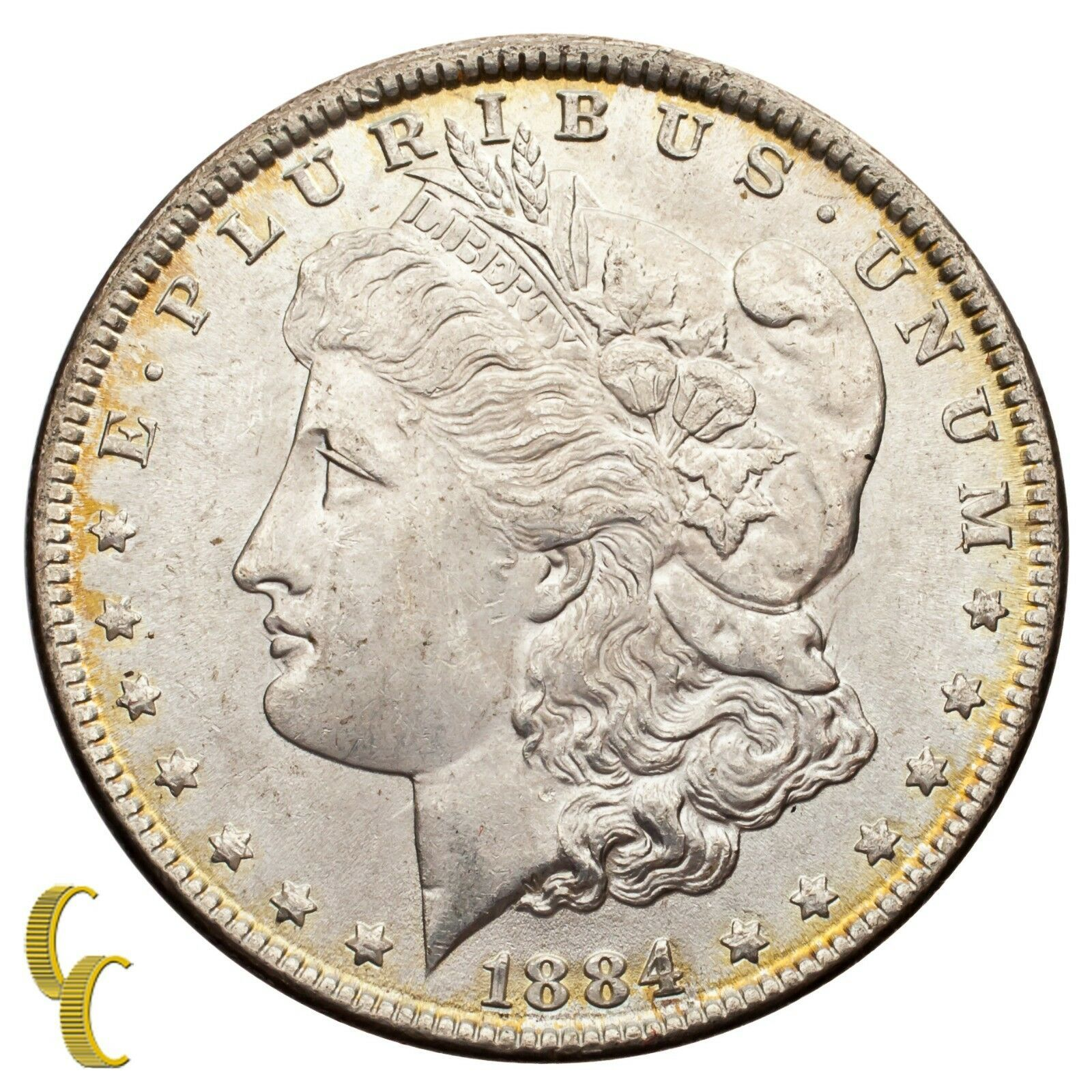 1884 Silver Morgan Dollar (Choice BU Condition) Full Mint Luster