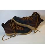 2012 Nike Air Force 1 Duckboot Mens Black 444745-004 Boots SZ 10.5 LEATH... - $118.80