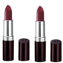 (2 Pack) New Rimmel Lasting Finish Lipstick Bordeaux, 0.14 Ounces - $15.99